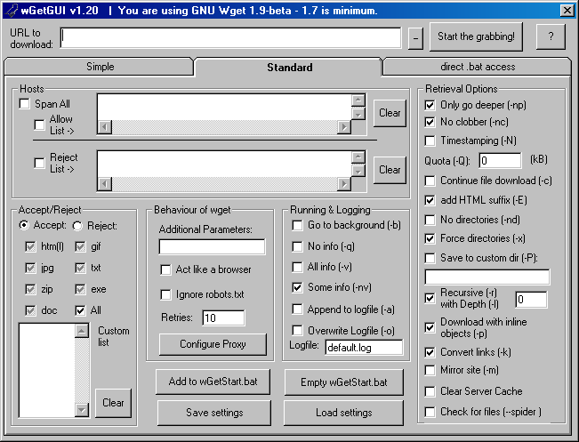 Graphical User Interface Design Issues